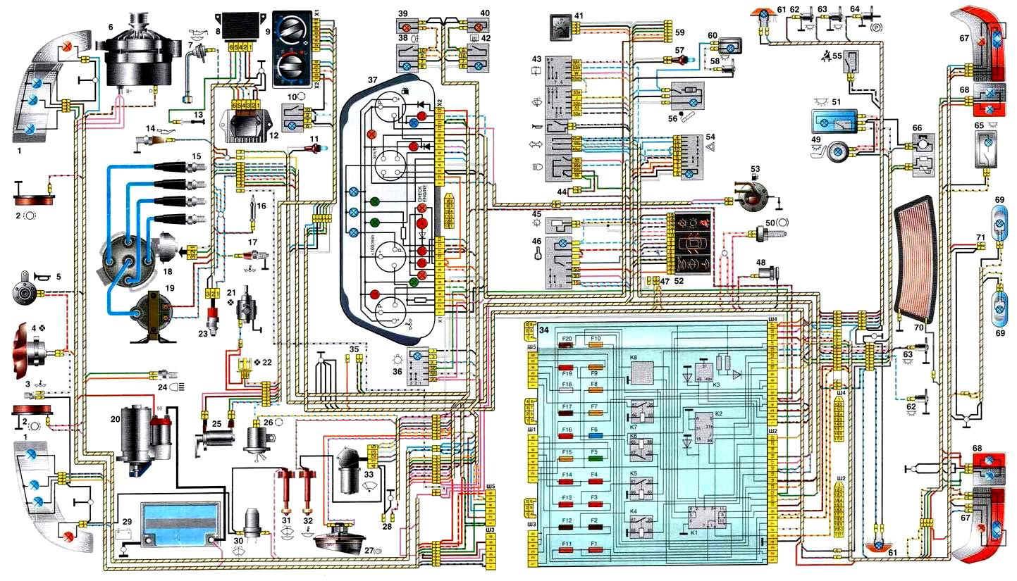 форд фокус 2 спидометр схема