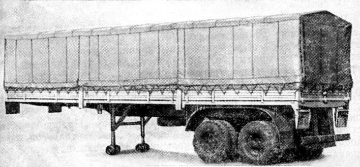 Полуприцеп ОдАЗ-9385